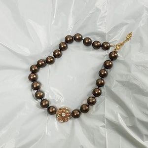 Lia Sophia Taffeta necklace